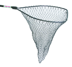 "Ultimate Salmon Bow Size: 30 1/2"" x 31 1/4"" Handle Length 48"" Net Depth: 48"""